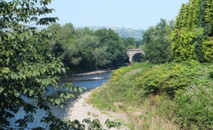 Re-crossing to Taff's Well