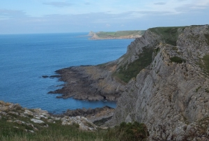 First view of Worms Head