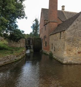 19th century mill at Lower Slaughter