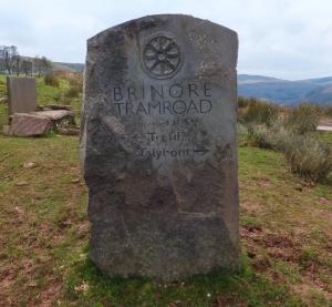 Brinore Tramroad sign