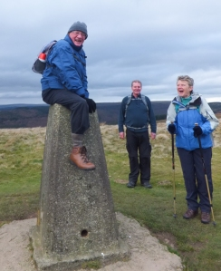 High jinks at the trig point