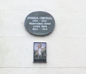 Joshua Cristall plaque