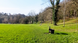 Main meadow Porthkerry Park