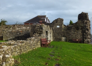Ruins of Barry Castle