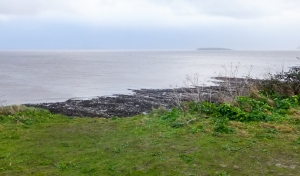 Coastal view approaching Lavernock