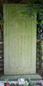 Llangynwyd village grave Wil Hopcyn