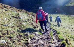 Descending into Cwm Nash