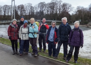 Blackweir by River Taff - Group photo