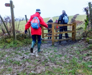 Gated walk from Pentyrch