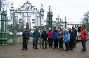 Pontypool Park gates
