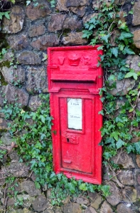 Post box Cefn Mably estate
