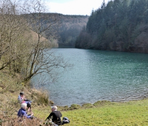 Lunch stop Wernderi reservoir
