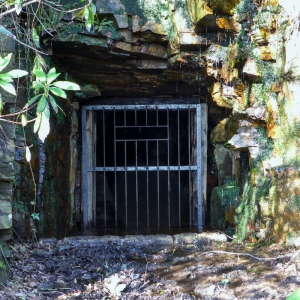 Old drift mine in Margam Park