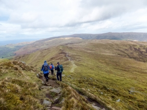 Descending Pen Allt-mawr