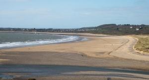 Ogmore estuary and Traeth yr Afon beach