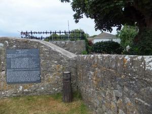 New gates on moorland by Merthyr Mawr Warren