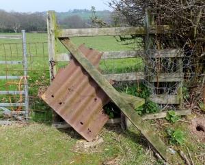 Berth llwyd farm blockage re-arranged to allow pedestrian access