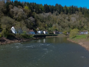View from the Tintern Bridge