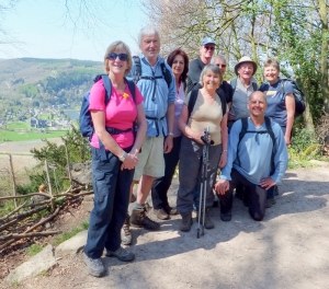 Group pic Devil's Pulpit