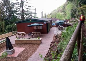 Forest Tea Room near Rhiwbina Hill