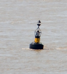 The bell buoy at Nash Point