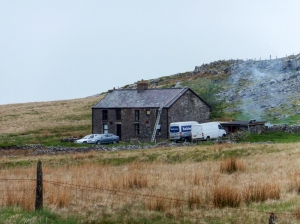 The old Penwyllt Inn or Stump