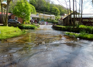 Ford near the old mill