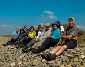 Group Above Kenfig Sands