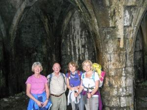 Morlais Castle crypt