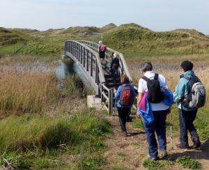 Crossing the River Kenfig