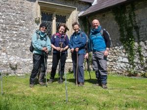 Group Photo in Penrice Churchyard