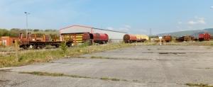 The old railway yard