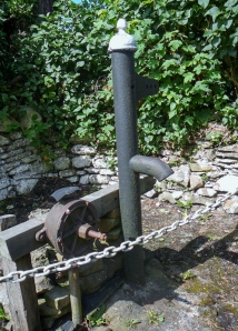 Disused water pump