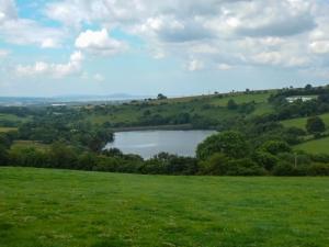 Lliw reservoir towards Gower