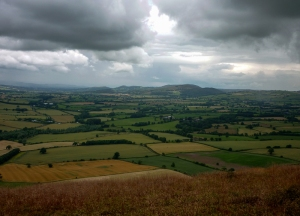 From the long Mynd