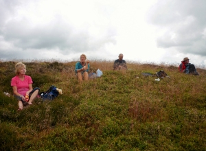 Lunch on the Long Mynd