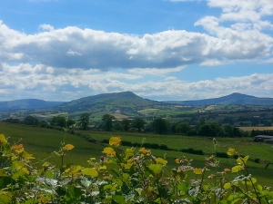 View back to Skirrid