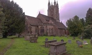All Saints Church Newland