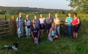 Group overlooking Michaelston