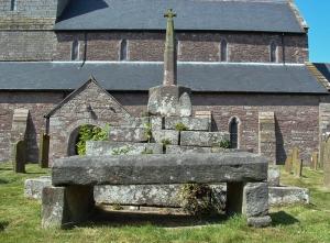Trellech the Druids Stone (not taken on the day)