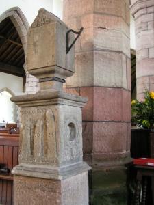 Sundial - St Nicholas Church Trellech (not taken on the day)