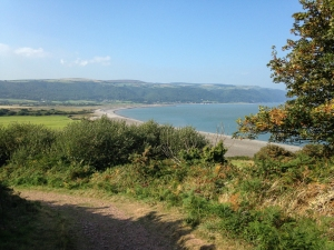 Bossington Beach and Porlock Bay