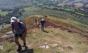 Climbing Mynydd Troed