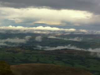 Cloud below Corn Du