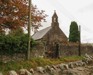 St Mabon's Church Llanfabon