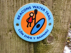 Beacons Water Trail for canoeists