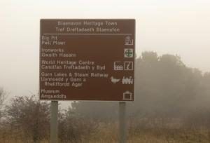 Blaenavon sign post
