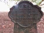 Yew tree plantation plaque