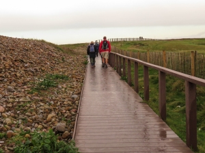 Walkway on Wales Coast Path