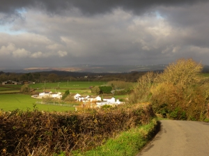 View up to Llanharan